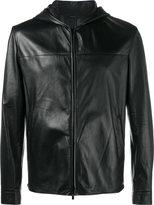 Fendi Bag Bugs hooded jacket - men - Lamb Skin - 46