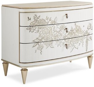 Caracole Classic Attention Getter 3 Drawer Accent Chest