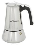 Tognana Riflex Induction Stainless Steel 4 Cup Coffee Maker