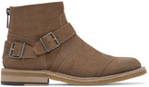 Belstaff Tan Suede Trailmaster Boots