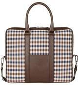 Aquascutum London Club Check Laptop Bag