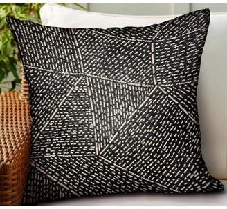 """Calne Geometric Luxury Indoor/Outdoor Throw Pillow Orren Ellis Size: 16"""" x 16"""""""