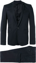 Les Hommes single breasted suit - men - Cotton/Spandex/Elastane/Viscose - 46