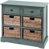 Jefferson 2-Drawer 4-Basket Cabinet
