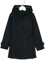 Burberry hooded trench coat - kids - Cotton/polyester - 5 yrs