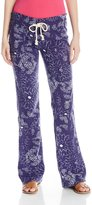 Roxy Junior's Oceanside Elastic Waist Printed Soft Pant