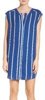 BB Dakota Women's Zea Stripe Shift Shirtdress