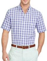 Chaps Short-Sleeve Plaid Sport Shirt