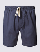 M&S Collection Pure Cotton Elastic Waist Shorts