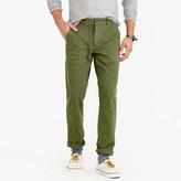 Wallace & Barnes Garment-dyed Herringbone Military Pant