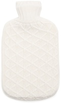 Allude Cross-knit cashmere hot water bottle