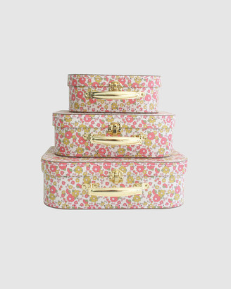 Alimrose - Girl's Pink Accessories - Kids Carry Case Set Chloe Print - Size One Size, One size at The Iconic