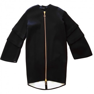 Ellery Black Cotton Coat for Women