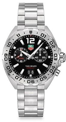 Tag Heuer Formula 1 41MM Stainless Steel Quartz Chronograph Bracelet Watch
