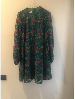 Giamba Green Lace Dress for Women