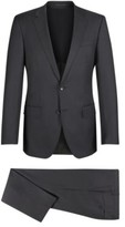 HUGO BOSS Wool Suit, Slim Fit Huge/Genius 42LGrey