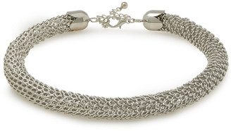 Kenneth Jay Lane Rhodium-plated Necklace