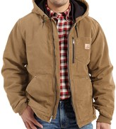 Carhartt Chapman Sandstone Duck Jacket - Insulated (For Big and Tall Men)