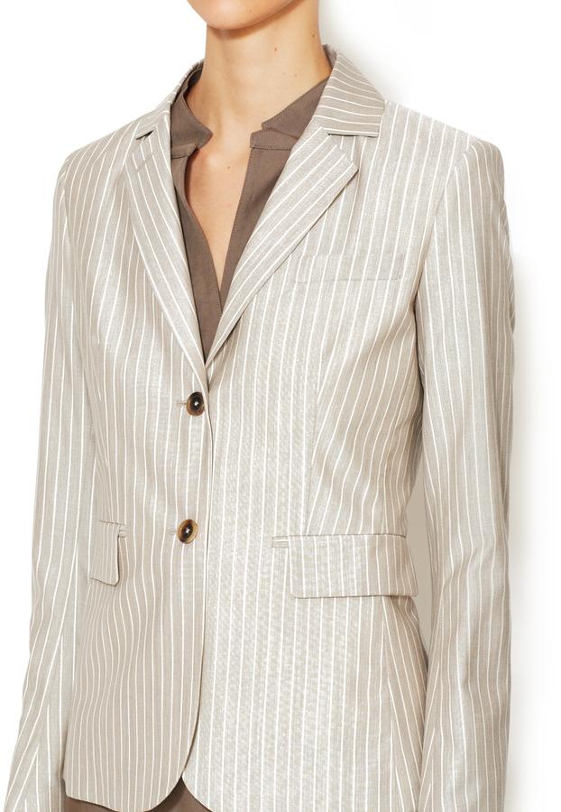 Façonnable Wool Pinstripe Blazer
