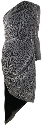 Giuseppe di Morabito One Sleeve Midi Dress