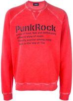 DSQUARED2 punk rock sweatshirt