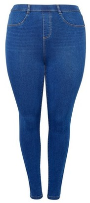 Dorothy Perkins Womens Dp Curve Rich Blue 'Eden' Organic Denim Premium Jeans, Blue