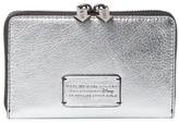 Marc by Marc Jacobs Alice Shine Metallic Wingman Wallet