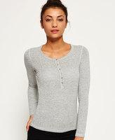 Superdry Slim Fit Knit Grandad Top