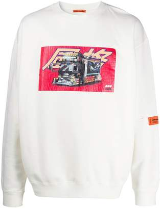 Heron Preston crew neck Dekotora sweater