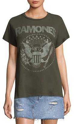 MadeWorn The Ramones Glitter Tee