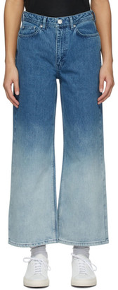 Won Hundred Blue Kiri Dip-Dye Jeans