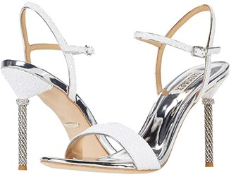 Badgley Mischka Olympia (Platino) High Heels