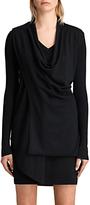 AllSaints Drina V-Neck Knitted Dress