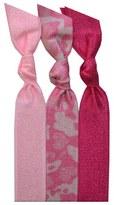 Camo Emi-Jay 'Pink Camo' Hair Ties (3-Pack)