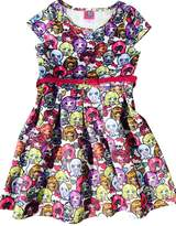 Monster High Scuba Skater Dress With Sparkle Belt