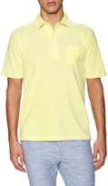 Jachs Four Button Single Pocket Pique Polo