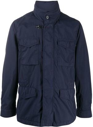 Fay Flap Pocket Military Jacket