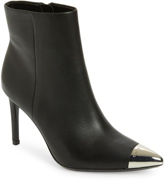 Calvin Klein Ravie Pointy Cap Toe Bootie