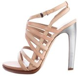 Reed Krakoff Leather Multistrap Sandals