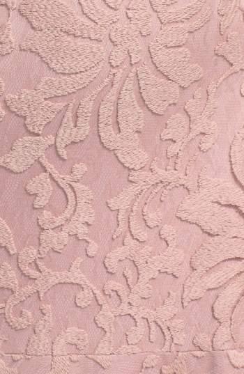 Tadashi Shoji Women's Textured Lace Mermaid Gown