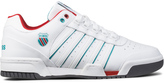 K-Swiss White/Blue/Red Gstaad Shoes