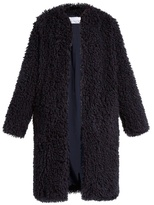 Raey Shaggy edge-to-edge coat