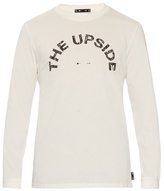 The Upside Crackle-print long-sleeved T-shirt