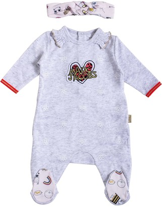 Little Marc Jacobs Baby Girl Jumpsuit With Band