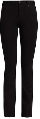 Paige Ponte High-Rise Manhattan Bootcut Jeans