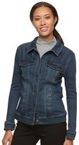 Gloria Vanderbilt Women's Faux-Denim Jacket