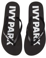 Ivy Park Women's Logo Flip Flops