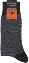 Dore Dore Pin Dot Cotton-blend Medium Length Socks