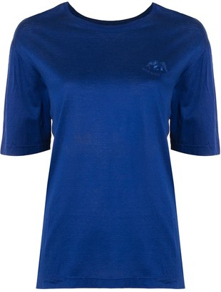 Hermes pre-owned embroidered logo T-shirt