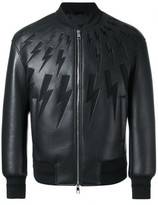 Neil Barrett lightning bolt bomber jacket